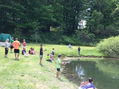 Fishing At Camp Chautauqua
